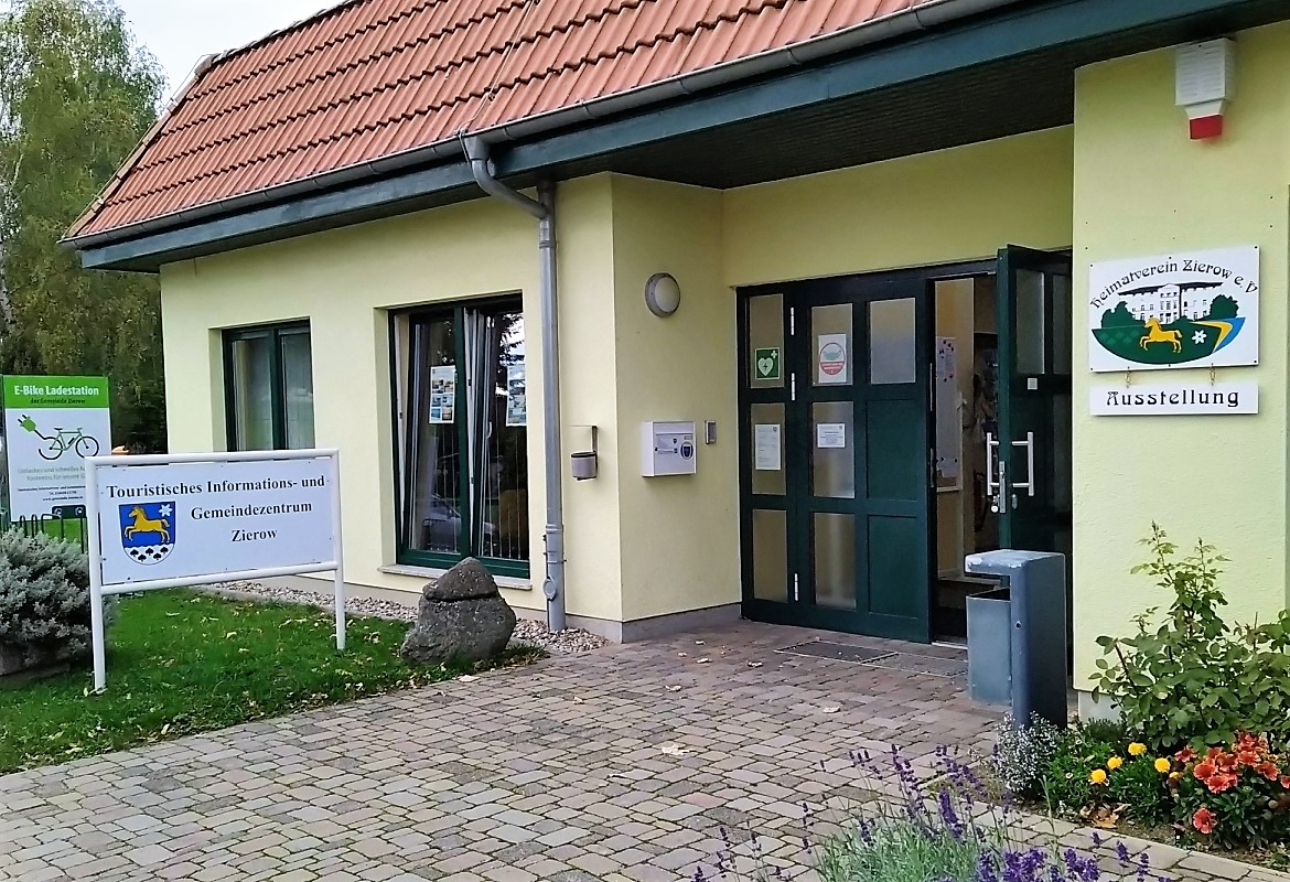 Welcome in Zierow - Tourist information & community center